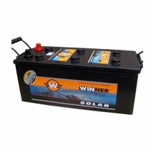 Μπαταρία βαθιάς εκφόρτισης Winner Solar W140- 12V+ ΔΩΡΟ ΓΑΝΤΙΑ ΕΡΓΑΣΙΑΣ NITRO (ΕΩΣ 6 ΑΤΟΚΕΣ ή 60 ΔΟΣΕΙΣ)