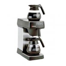 Μηχανή Καφέ Φίλτρου Ανοξείδωτη Με 2 εστίες Παραγωγή: 18lit/h  BRAVILOR NOVO + ΔΩΡΟ ΓΑΝΤΙΑ ΕΡΓΑΣΙΑΣ NITRO (ΠΛΗΡΩΜΗ ΕΩΣ 60 ΔΟΣΕΙΣ)