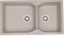 Sanitec Συνθετικός Νεροχύτης Κουζίνας Sanitec 307 92X51cm αντιστρεφόμενος + ΔΏΡΟ ΓΆΝΤΙΑ ΝΊΤΡΟ (ΠΛΗΡΩΜΉ ΈΩΣ 60 ΔΌΣΕΙΣ)