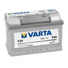 Μπαταρία Αυτοκινήτου VARTA E38 74AH 750A 278mm x 175mm x 175mm(ΕΩΣ 6 ΑΤΟΚΕΣ ή 60 ΔΟΣΕΙΣ)