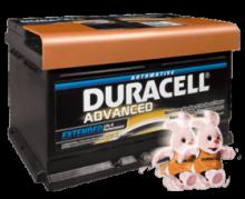 Μπαταρία Αυτοκινήτου Duracell DA62 κλειστού τύπου 62Ah (ΕΩΣ 6 ΑΤΟΚΕΣ ή 60 ΔΟΣΕΙΣ)
