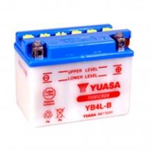 Μπαταρία μοτοσυκλετών YUASA 12V 4AH YB4L-B (ΕΩΣ 6 ΑΤΟΚΕΣ ή 60 ΔΟΣΕΙΣ)