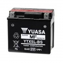 Μπαταρία μοτοσυκλετών YUASA 12V 4AH YTX5L-BS (ΕΩΣ 6 ΑΤΟΚΕΣ ή 60 ΔΟΣΕΙΣ)