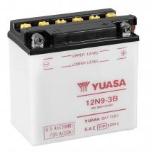 Μπαταρία μοτοσυκλετών YUASA 12V 9AH 12N9-3B (ΕΩΣ 6 ΑΤΟΚΕΣ ή 60 ΔΟΣΕΙΣ)