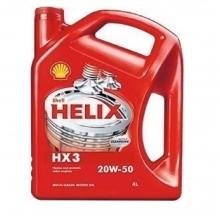Λιπαντικό SHELL Helix ΗΧ3 20W50 4L(ΕΩΣ 6 ΑΤΟΚΕΣ Η 60 ΔΟΣΕΙΣ)
