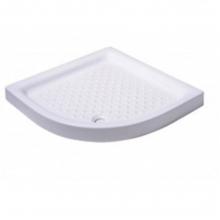 Ντουζιέρα πορσελάνης ημικυκλική Karag Porcelain 5 80x80x9cm(ΕΩΣ 6 ΑΤΟΚΕΣ ή 60 ΔΟΣΕΙΣ)