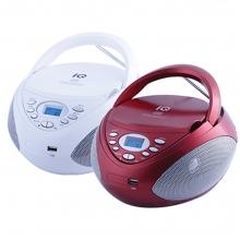 ΦΟΡΗΤΟ ΡΑΔΙΟ-CD ΜΕ USB IQ CD-497 (ΕΩΣ 6 ΑΤΟΚΕΣ Ή 60 ΔΟΣΕΙΣ)
