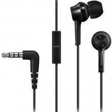Ακουστικά Panasonic RP-TCM105E-Κ(ΕΩΣ 6 ΑΤΟΚΕΣ Η 60 ΔΟΣΕΙΣ)