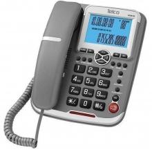 ΤΗΛ ΕΠΙΤΡΑΠΕΖΙΟ CALLER ID TELCO GCE 6122 ΓΚΡΙ  (ΕΩΣ 6 ΑΤΟΚΕΣ ή 60 ΔΟΣΕΙΣ)
