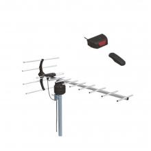 ΚΕΡΑΙΑ ΤΗΛΕΧΕΙΡΙΖΟΜΕΝΗ ΕΞΩΤ.ΧΩΡΟΥ 30 dB TELCO UHF-107(R) ΜΑΥΡΗ  (ΕΩΣ 6 ΑΤΟΚΕΣ ή 60 ΔΟΣΕΙΣ)