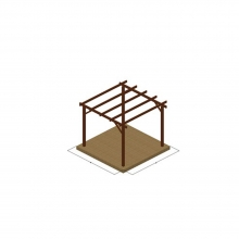 πέργκολα Αυτόνομη (363054) (ΕΩΣ 6 ΑΤΟΚΕΣ ή 60 ΔΟΣΕΙΣ)