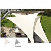 Τρίγωνο πανί σκίασης 285gsm ΑΔΙΑΒΡΟΧΟ 5,0 x 5,0 x 5,0m NESLING (N501-022-35) (ΕΩΣ 6 ΑΤΟΚΕΣ ή 60 ΔΟΣΕΙΣ)