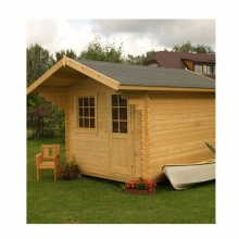 Ξύλινο Σπίτι Ερατώ 410 x 410cm (440800) (ΕΩΣ 6 ΑΤΟΚΕΣ ή 60 ΔΟΣΕΙΣ)
