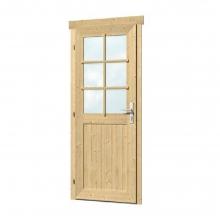 Ξύλινη Πόρτα Μονόφυλλη 28mm - 83,5 x 190cm (405405) (ΕΩΣ 6 ΑΤΟΚΕΣ ή 60 ΔΟΣΕΙΣ)