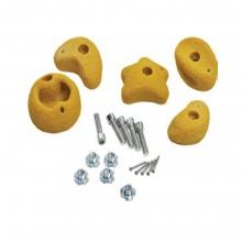 Βράχοι Αναρρίχησης (συσκ. 5τεμ) - κίτρινοι (34273-1) (ΕΩΣ 6 ΑΤΟΚΕΣ ή 60 ΔΟΣΕΙΣ)