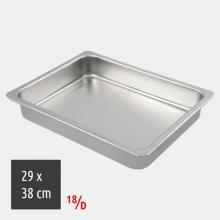 Ταψί Ορθογώνιο 29x38cm 18/D Inox (ΕΩΣ 6 ΑΤΟΚΕΣ ή 60 ΔΟΣΕΙΣ)