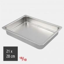 Ταψί Ορθογώνιο 21x28cm 18/10 Inox (ΕΩΣ 6 ΑΤΟΚΕΣ ή 60 ΔΟΣΕΙΣ)