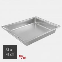Ταψί Ορθογώνιο 37x45cm 18/10 Inox (ΕΩΣ 6 ΑΤΟΚΕΣ ή 60 ΔΟΣΕΙΣ)