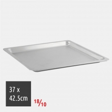 Ταψί Ορθογώνιο 37×42,5cm 18/10 Inox Ρηχό (ΕΩΣ 6 ΑΤΟΚΕΣ ή 60 ΔΟΣΕΙΣ)
