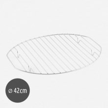 Σχάρα Χρωμίου για Γάστρα Οβάλ 42cm (ΕΩΣ 6 ΑΤΟΚΕΣ ή 60 ΔΟΣΕΙΣ)