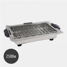 Ψηστιέρα BBQ 2500w Inox (ΕΩΣ 6 ΑΤΟΚΕΣ ή 60 ΔΟΣΕΙΣ)