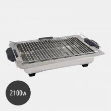 Ψηστιέρα BBQ 2100w Inox (ΕΩΣ 6 ΑΤΟΚΕΣ ή 60 ΔΟΣΕΙΣ)
