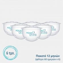 Φίλτρο Νερού Aqua Optima SWP336 για Κανάτες – Πακέτο 12 Μηνών (ΕΩΣ 6 ΑΤΟΚΕΣ ή 60 ΔΟΣΕΙΣ)