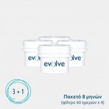 Φίλτρο Νερού Aqua Optima Evolve EVD415 για Κανάτες – Πακέτο 8 μηνών (ΕΩΣ 6 ΑΤΟΚΕΣ ή 60 ΔΟΣΕΙΣ)