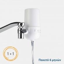 Σύστημα Φιλτραρίσματος Νερού Βρύσης Defort DWF-500 + 1 Φίλτρο (ΕΩΣ 6 ΑΤΟΚΕΣ ή 60 ΔΟΣΕΙΣ)
