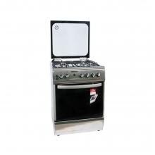 Κουζίνα αερίου με αερόθερμο φούρνο INOX THERMOGATZ TG 2020  (ΕΩΣ 6 ΑΤΟΚΕΣ ή 60 ΔΟΣΕΙΣ)