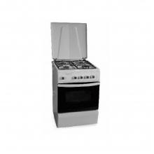 Κουζίνα Αερίου THERMOGATZ TG 1050 WH FS5402MXZW (ΕΩΣ 6 ΑΤΟΚΕΣ ή 60 ΔΟΣΕΙΣ)