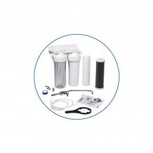 Σύστημα Φίλτρανσης Κάτω Πάγκου 2 Σταδίων Aqua filter FP2-W-K1 + ΔΩΡΟ ΓΑΝΤΙΑ ΕΡΓΑΣΙΑΣ (ΕΩΣ 6 ΑΤΟΚΕΣ Η 60 ΔΟΣΕΙΣ)