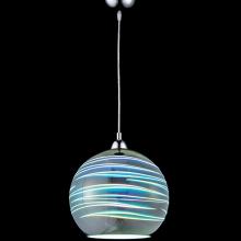 Φωτιστικό Κρεμαστό Μεταλλικό Γυαλί Πολύχρωμο 1 x Ε27 Y125cm x Ø25cm 91SHADE3DR2 K0473 + ΔΩΡΟ ΓΑΝΤΙΑ ΕΡΓΑΣΙΑΣ (ΕΩΣ 6 ΑΤΟΚΕΣ Η 60 ΔΟΣΕΙΣ)