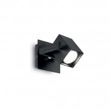 Φωτιστικό Τοίχου Σποτ Μονό Μαύρο Μέταλλο GU10 10x11x14cm 073569 K0223+ ΔΩΡΟ ΓΑΝΤΙΑ ΕΡΓΑΣΙΑΣ (ΕΩΣ 6 ΑΤΟΚΕΣ Η 60 ΔΟΣΕΙΣ)