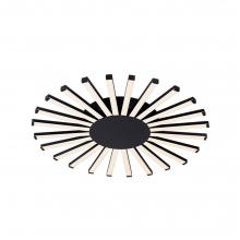 Φωτιστικό Οροφής Μεταλλικό Σιλικόνη Μαύρο 1 x LED Y5cm x Π57,5cm 955JOSEY96/BL K0459+ ΔΩΡΟ ΓΑΝΤΙΑ ΕΡΓΑΣΙΑΣ (ΕΩΣ 6 ΑΤΟΚΕΣ Η 60 ΔΟΣΕΙΣ)