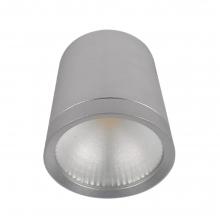 Φωτιστικό Οροφής Spot LED Μεταλλικό Ασημί 1 x LED 10W 4.300K 800Lumen Y7cm x Ø9,5cm 92DLOM1027/S K0502+ ΔΩΡΟ ΓΑΝΤΙΑ ΕΡΓΑΣΙΑΣ (ΕΩΣ 6 ΑΤΟΚΕΣ Η 60 ΔΟΣΕΙΣ)