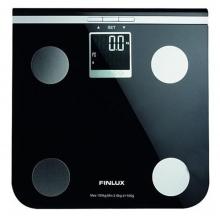 Ηλεκτρονική Finlux Ζυγαριά FBS-71250 Black  +ΔΩΡΟ ΓΑΝΤΙΑ ΕΡΓΑΣΙΑΣ (ΕΩΣ 6 ΑΤΟΚΕΣ Η 60 ΔΟΣΕΙΣ)