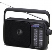Φορητό Ραδιόφωνο Panasonic  RF-2400EG9-K + ΔΩΡΟ ΕΡΓΑΣΙΑΣ  (ΕΩΣ 6 ΑΤΟΚΕΣ Ή 60 ΔΟΣΕΙΣ)