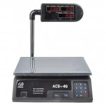 Επαγγελματική ψηφιακή ζυγαριά ACS-40 + ΔΩΡΟ ΓΑΝΤΙΑ ΕΡΓΑΣΙΑΣ (6 ΕΩΣ 60 ΔΟΣΕΙΣ)
