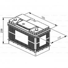 Μπαταρία  Bosch L4 034 12V 105AH +ΔΩΡΟ ΓΑΝΤΙΑ ΕΡΓΑΣΙΑΣ  (ΕΩΣ 6 ΑΤΟΚΕΣ ή 60 ΔΟΣΕΙΣ)