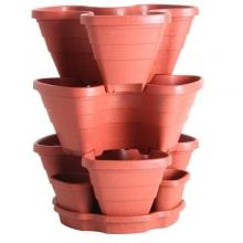 Φυτοδοχεία για φράουλες, αρωματικά φυτά, μικρά λαχανικά, λουλούδια(ΕΩΣ 6 ΑΤΟΚΕΣ ή 60 ΔΟΣΕΙΣ)