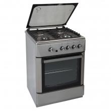 Κουζίνα Αερίου Inox CARAD GGΧ50045