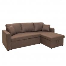Γωνιακός καναπές κρεβάτι Marvel pakoworld αναστρέψιμος με αποθηκευτικό χώρο    + Δώρο Γάντια Εργασίας(Εως 6 Άτοκες ή 60 Δόσεις)