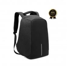 Σακίδιο πλάτης αντικλεπτικό TRV-001 pakoworld μαύρο με usb+Laptop 15,6''    + Δώρο Γάντια Εργασίας(Εως 6 Άτοκες ή 60 Δόσεις)
