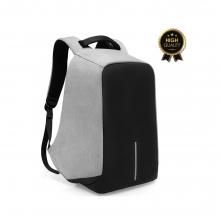 Σακίδιο πλάτης αντικλεπτικό TRV-001 pakoworld γκρι-μαύρο με usb+Laptop 15,6''    + Δώρο Γάντια Εργασίας(Εως 6 Άτοκες ή 60 Δόσεις)