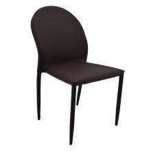 Καρέκλα Δερμάτινη Ankor Καφέ    + Δώρο Γάντια Εργασίας(Εως 6 Άτοκες ή 60 Δόσεις)
