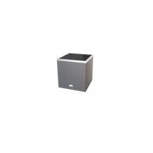 Γλάστρα techno-rattan αυτοποτιζόμενες τετράγωνη/γκρι (ΕΩΣ 6 ΑΤΟΚΕΣ ή 60 ΔΟΣΕΙΣ)